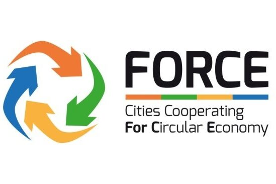 Logo Force Cities Cooperating For Circural Economy